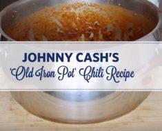 allcreated - johnny cashs chili recipes
