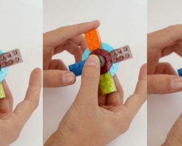 allcreated - lego fidget spinner