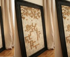 allcreated - magnetic scrabble wall art