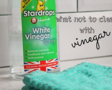allcreated - what not to clean with vinegar