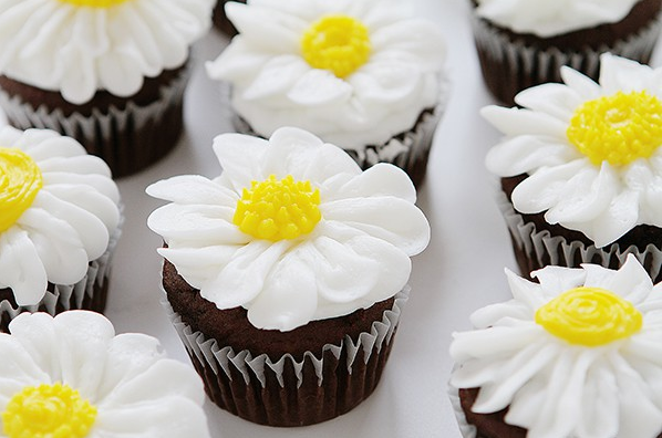 allcreated - how to pipe a buttercream daisy