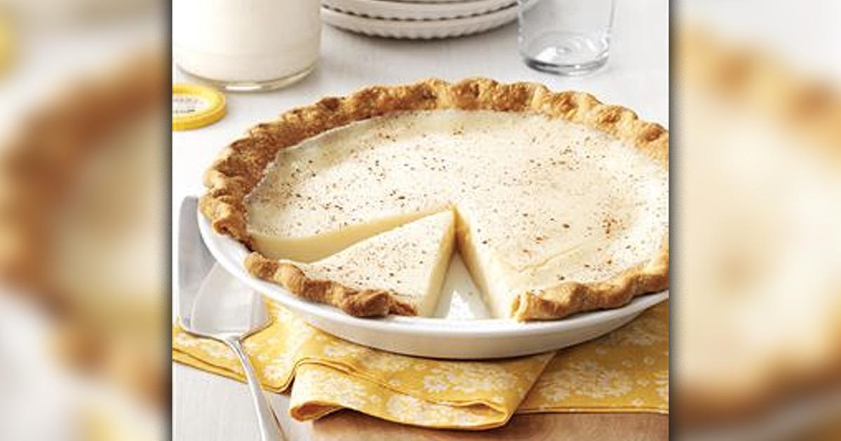 depression era recipes that won't break the bank _ sugar milk pie_ all created