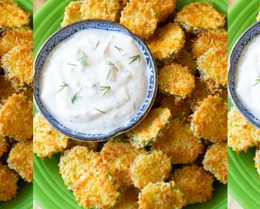 allcreated - baked fried pickles