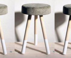 allcreated - diy bucket stool