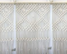allcreated - diy macrame wall hanging