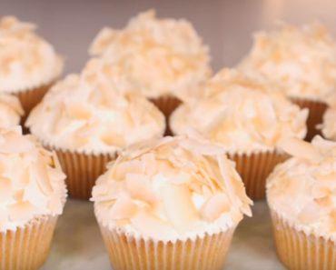 allcreated - mango coconut cupcakes