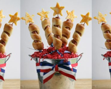 allcreated - patriotic hot dogs