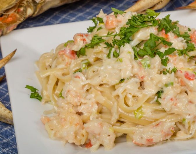 allcreated - copycat red lobster crab alfredo