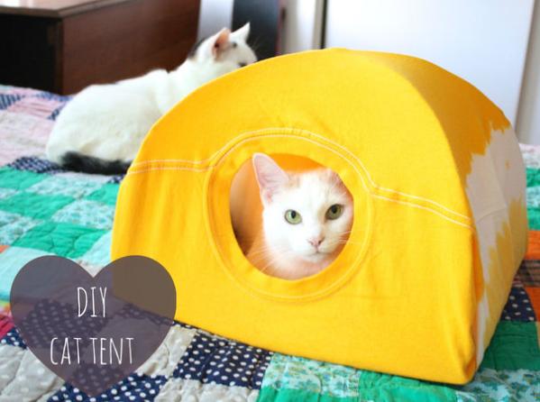 allcreated - diy cat tent