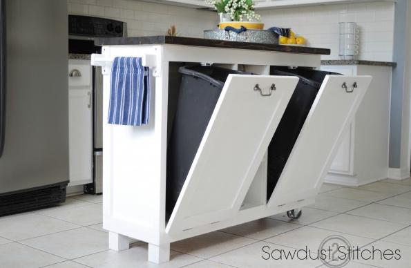 allcreated - DIY kitchen island