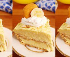 allcreated - banana pudding cheesecake