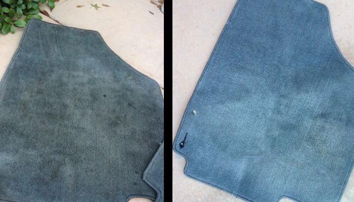 Clean Car Floor Mats Easily With DIY Cleaner And Washing ...
