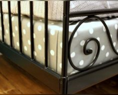allcreated - cover a box spring in fabric