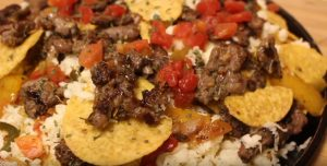 allcreated - dollar store steak and cheese nachos 1