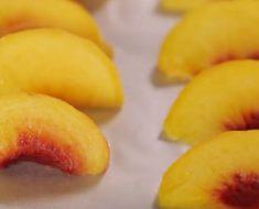 allcreated - freeze fresh peaches