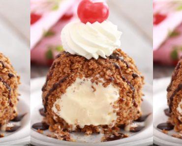 allcreated - no fry fried ice cream