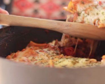 allcreated - one pot lasagna