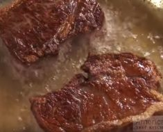 allcreated - cooking frozen steak
