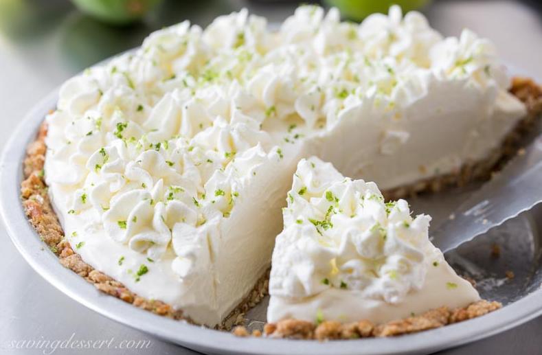 allcreated - frozen margarita pie