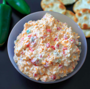 allcreated - skinny, spicy pimento cheese