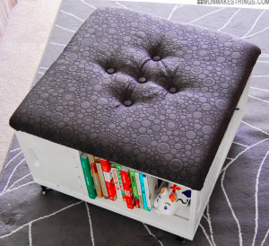 allcreated - diy crate storage ottoman