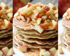 allcreated - apple pie pancakes