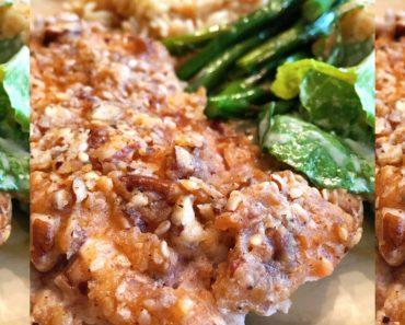 allcreated - buttermilk pecan chicken