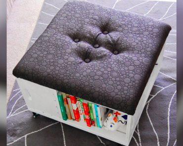 allcreated - diy crate storage ottoman