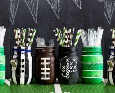 allcreated - football game party decor