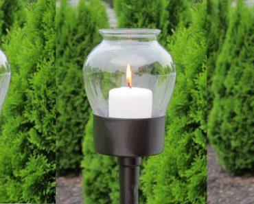 allcreated - diy garden lantern