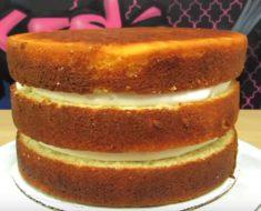 allcreated - vanilla butter cake
