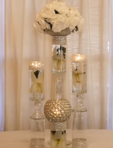 Dollar Store Diy Wedding Decorations Give Big Glamour For