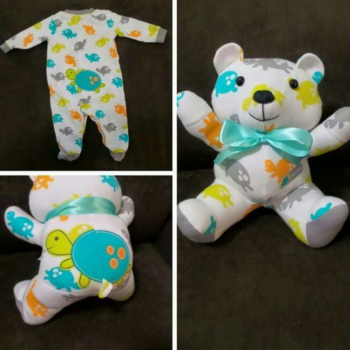 Baby Clothes Transformed Into Stuffed Animals Are Loved Memory Bears