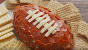 allcreated - football cheeseball
