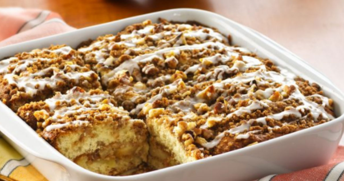 Classic Coffee Cake Recipe Bisquick