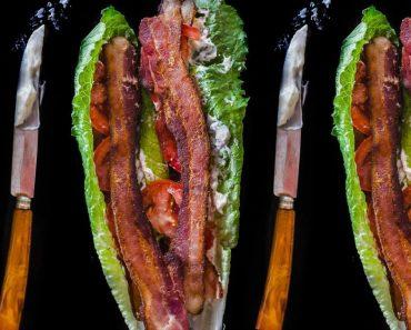 allcreated - blt lettuce wrap