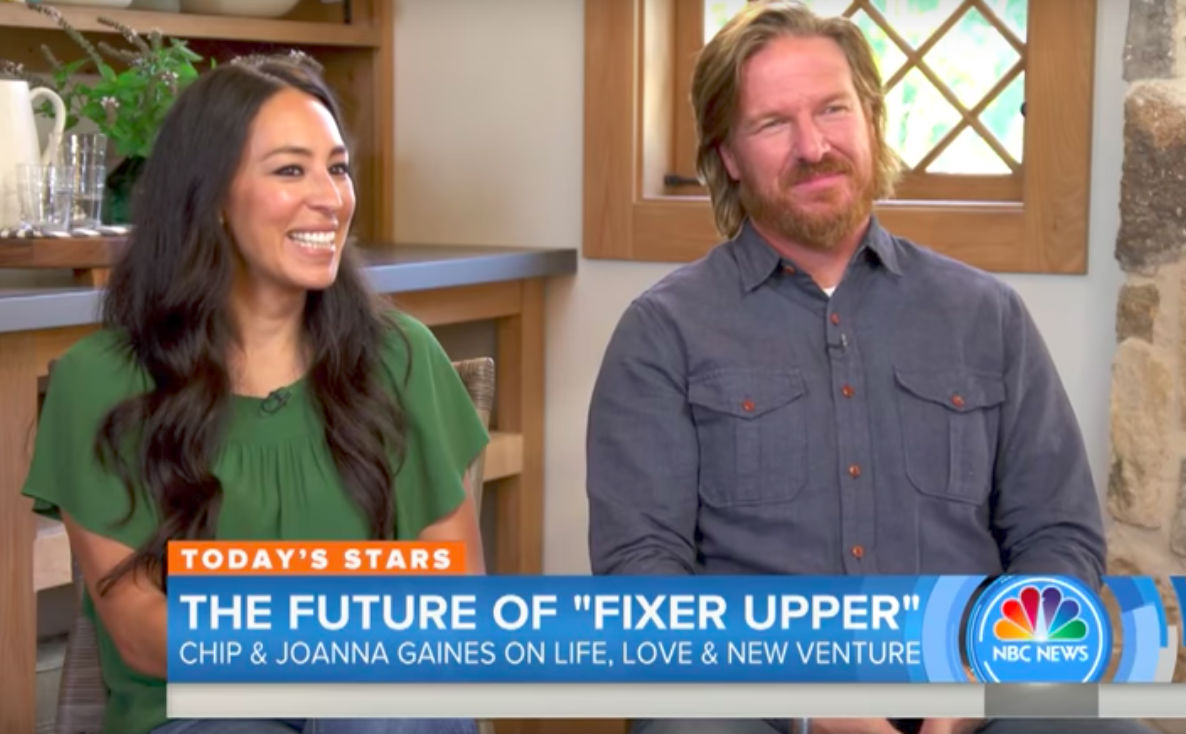 Chip And Joanna Chip And Joanna Gaines On The Today Show