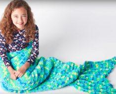 allcreated - diy mermaid blanket