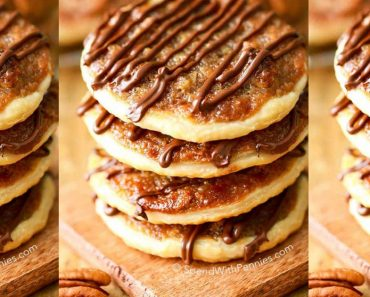 allcreated - pecan pie cookies