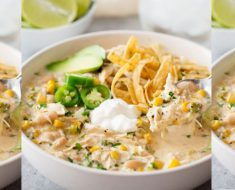allcreated - slow cooker white chicken chili