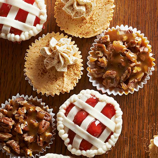 allcreated - pie cupcakes