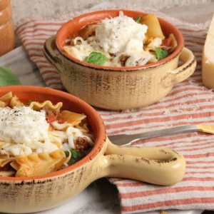 allcreated - lasagna soup