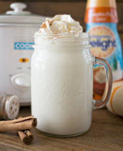 allcreated - pumpkin spice white hot chocolate