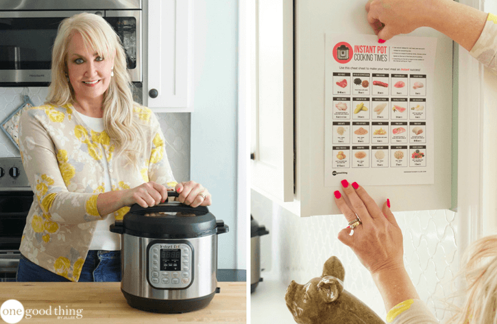 picture relating to Instant Pot Cheat Sheet Printable known as Instantaneous Pot Cooking Instances Printable Yourself Can Dangle In just Your Kitchen area