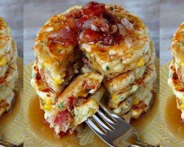 allcreated - bacon and corn griddle cakes