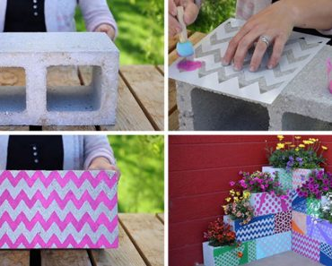 allcreated - cinder block planter