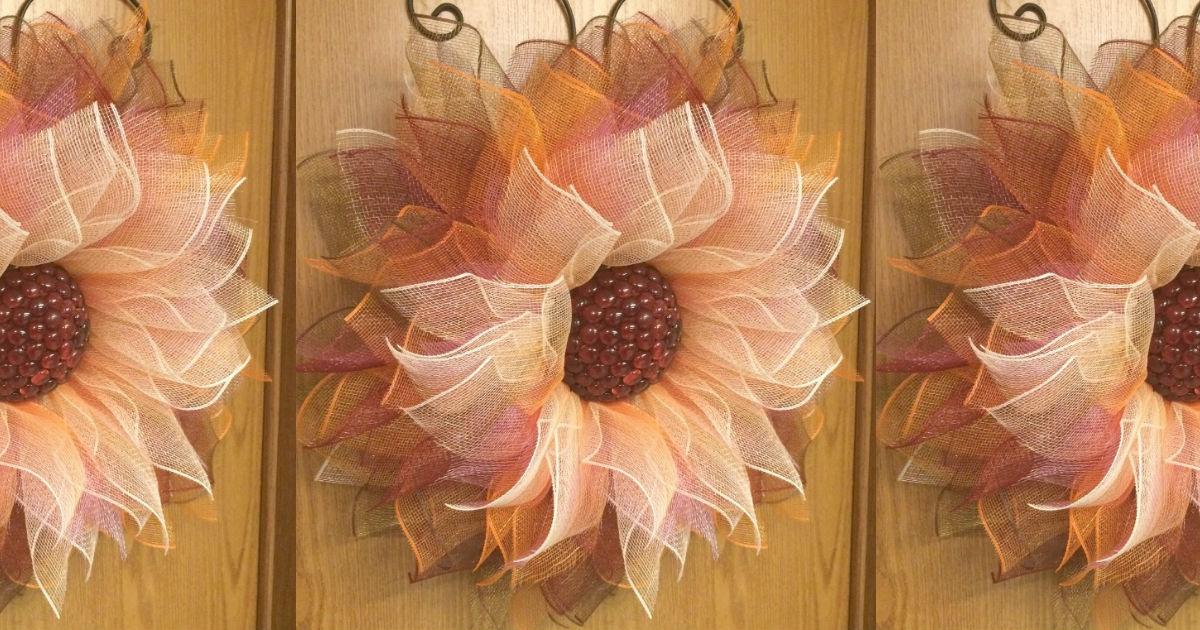 Noble Touch Diy Flower Wreath