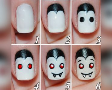 allcreated - diy halloween nail art