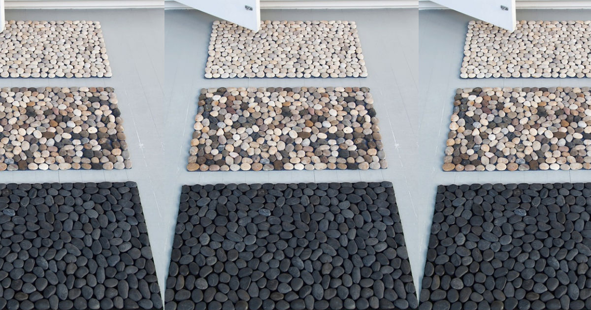 Spa pebble mat you can diy from dollar store materials solutioingenieria Image collections
