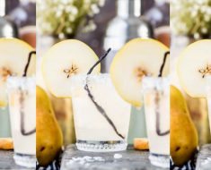 allcreated- pear coconut cocktail